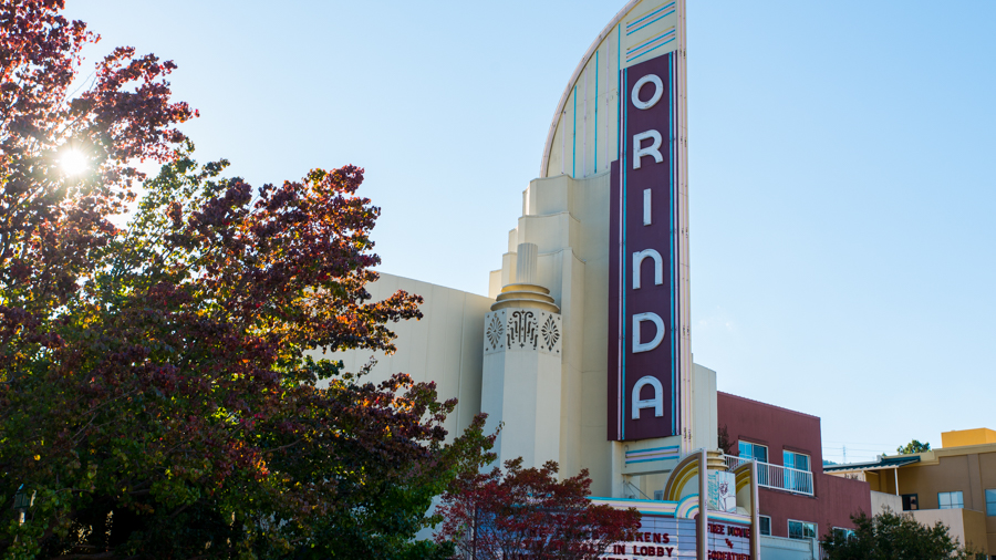 The Orinda movie theater is BARTable.
