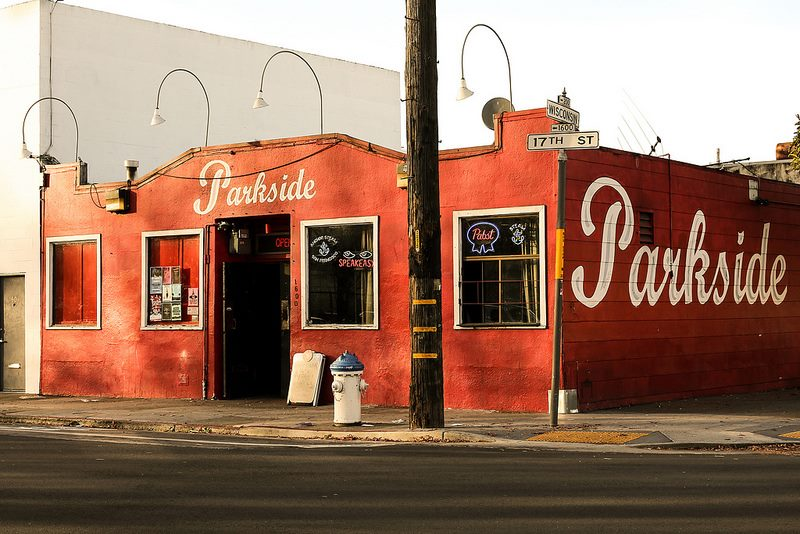Thee Parkside is located by 16th St. Mission BART Station. It's a bike-friendly BARTable bar