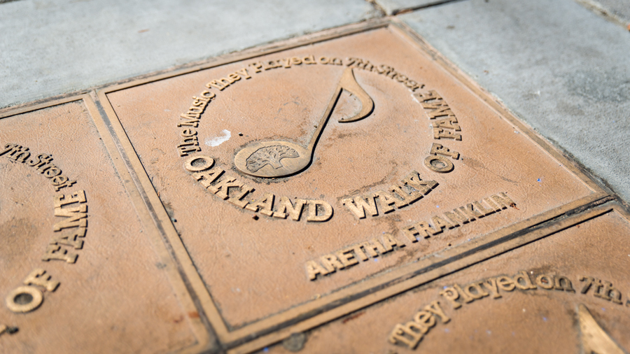 "Stroll the ""Walk of Fame"" at West Oakland"