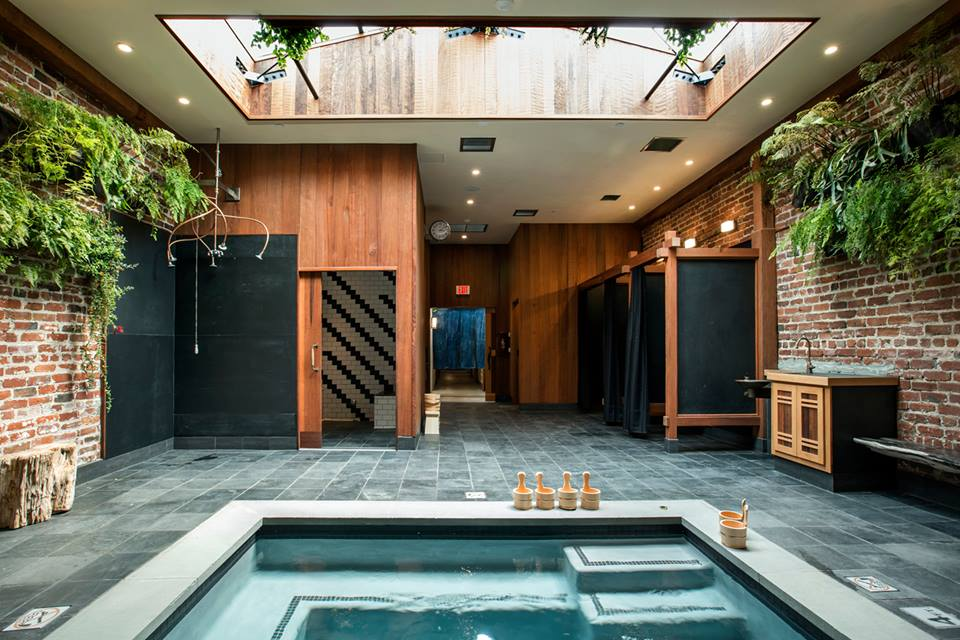 Japanese-inspired bathhouse offers serenity