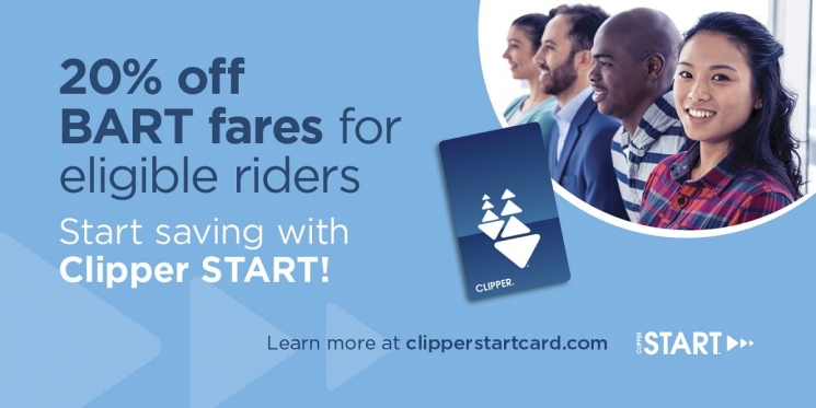 20 percent off BART fares for eligible riders
