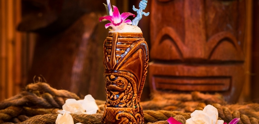 Take the train to these tropical tiki taverns