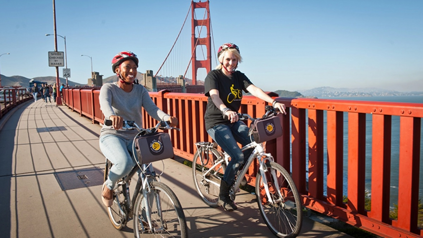 BARTable by bike: Golden Gate Bridge